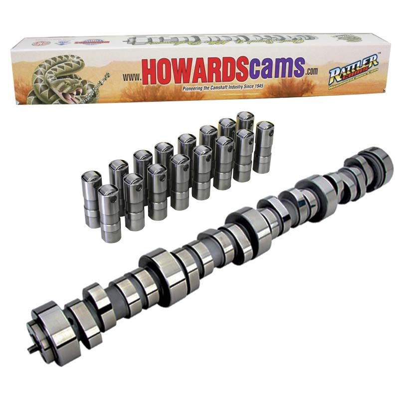 Hydraulic Roller Rattler Camshaft & Lifter Kit; 1997 - Present Chevy Gen III / IV - LS-Series 2200 to 6500 Howards Cams CL198035-09 CL198035-09