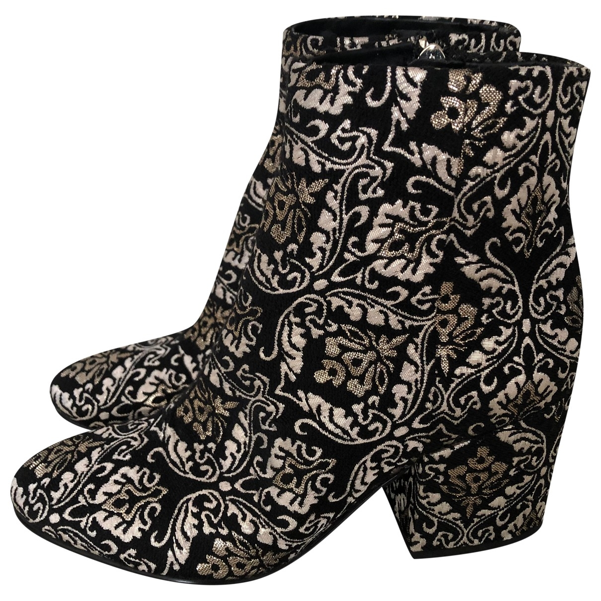 Sam Edelman - Boots   pour femme en toile - noir