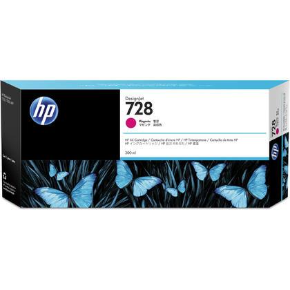 HP 728 F9K16A 300ml Original Magenta Ink Cartridge Extra High Yield