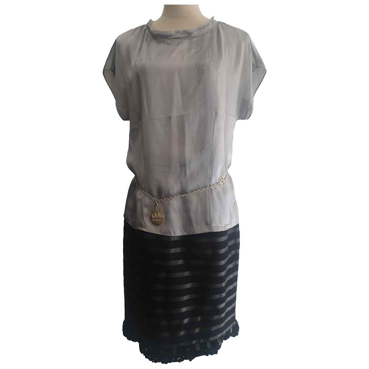 Chanel - Veste   pour femme en cachemire - gris