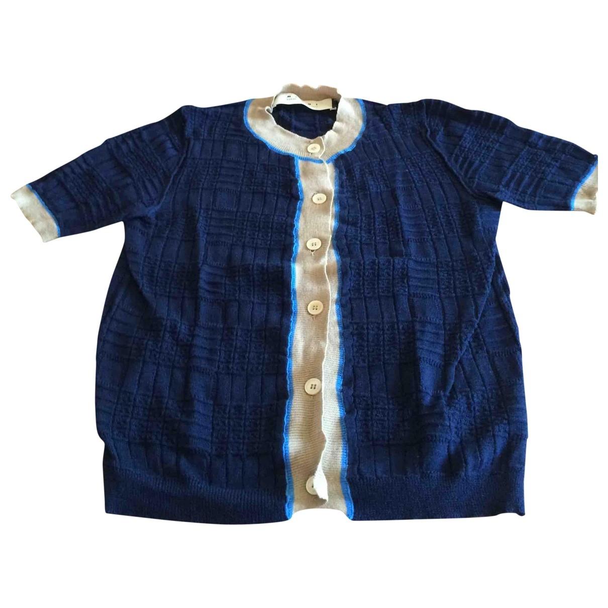 Marni \N Pullover in  Marine Baumwolle