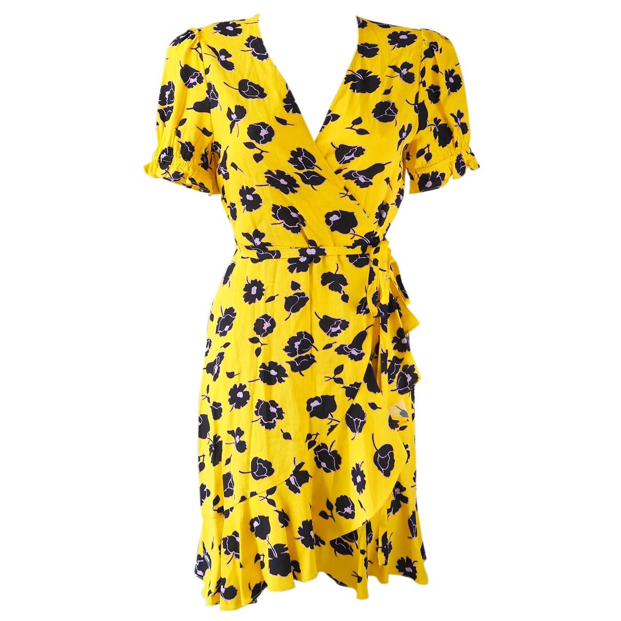 Diane Von Furstenberg - Robe   pour femme - jaune