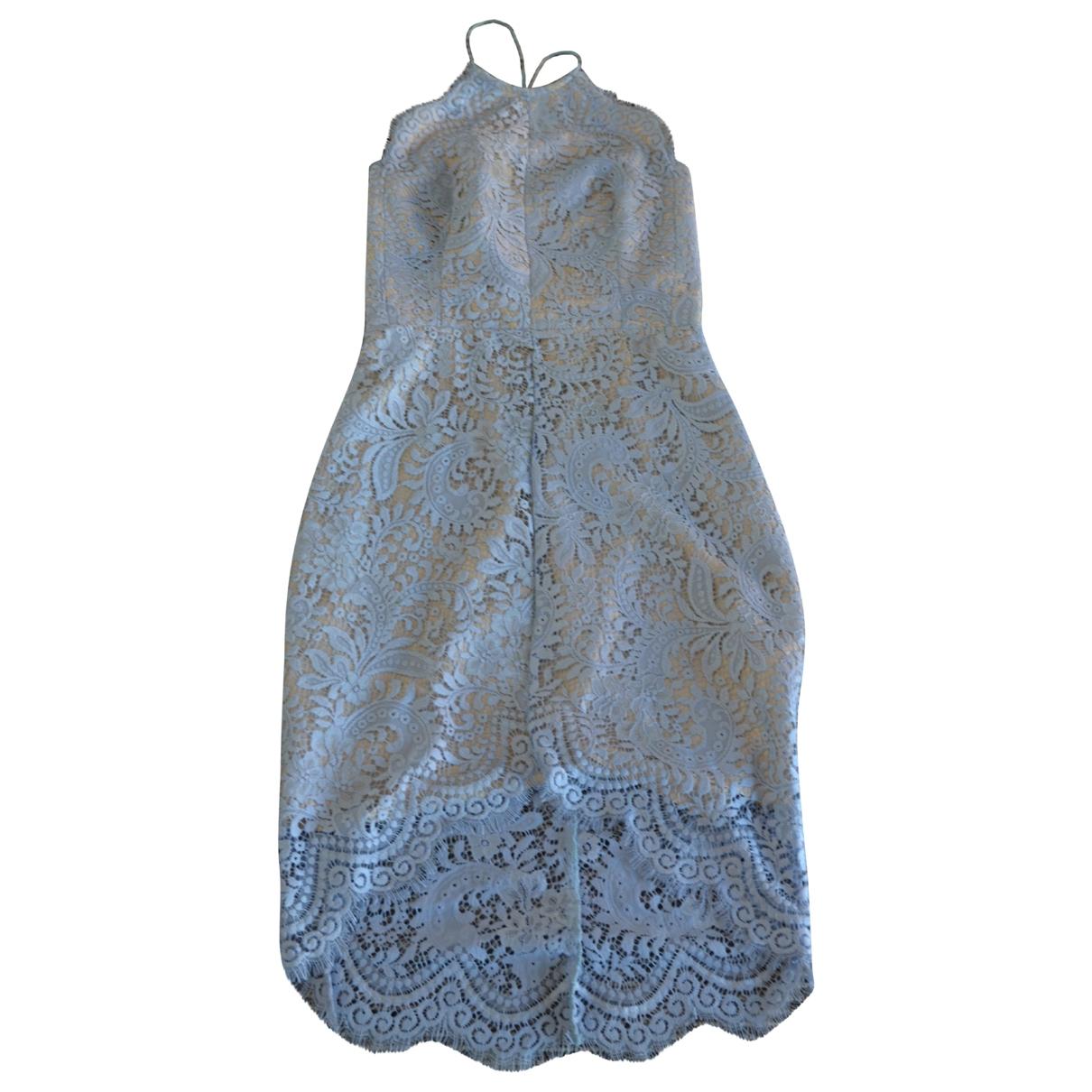 Lover \N Kleid in  Blau Spitze
