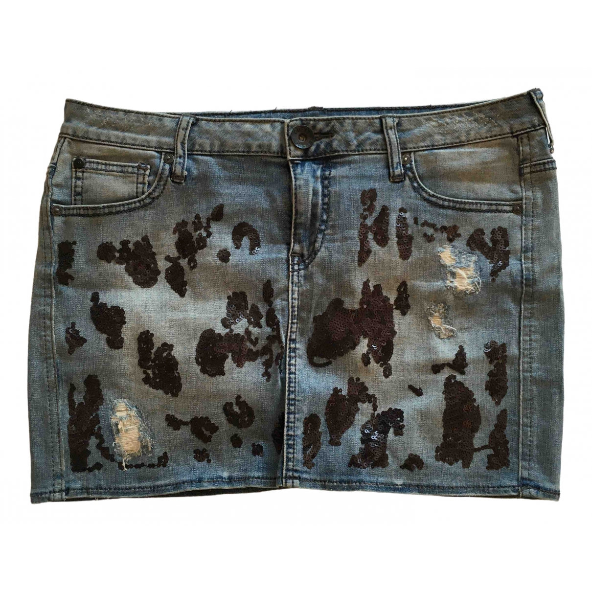 Guess \N Blue Denim - Jeans skirt for Women M International