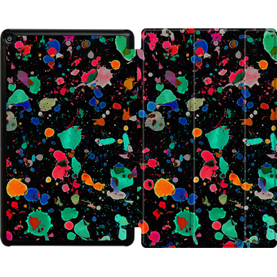 Amazon Fire HD 10 (2018) Tablet Smart Case - Colourful Splatter von Amy Sia