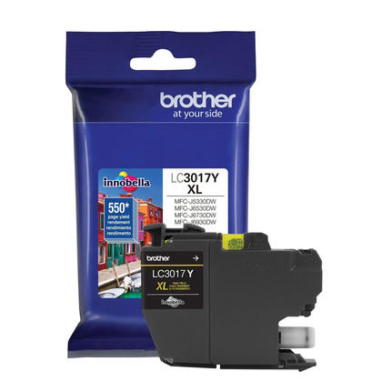 Brother LC3017Y Original Yellow Ink Cartridge High Yield