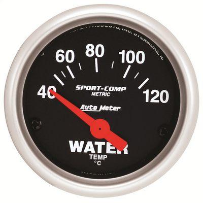 Auto Meter Sport-Comp Electric Water Temperature Gauge - 3337-M