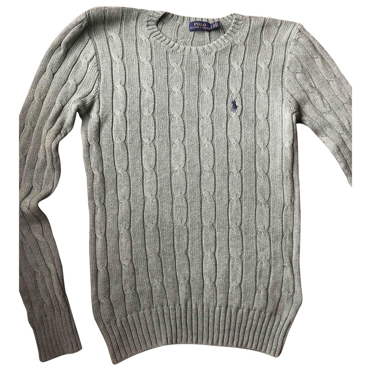 Polo Ralph Lauren \N Pullover in  Tuerkis Baumwolle