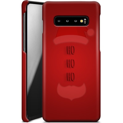 Samsung Galaxy S10 Plus Smartphone Huelle - Ho Ho Ho von caseable Designs
