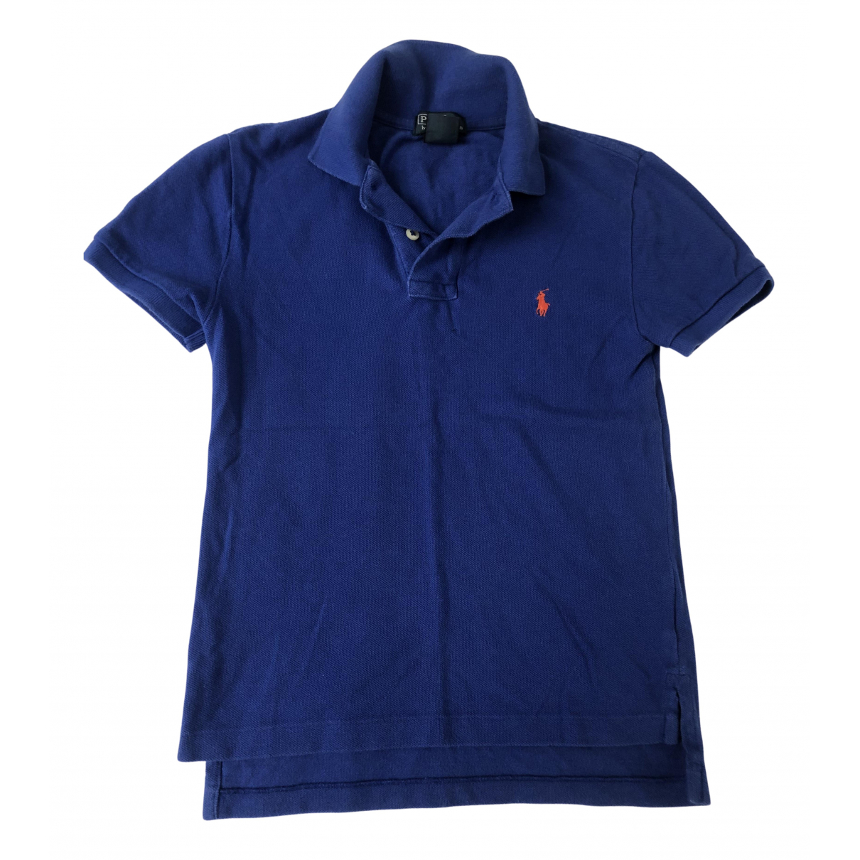 Polo Ralph Lauren - Top   pour enfant en coton - bleu