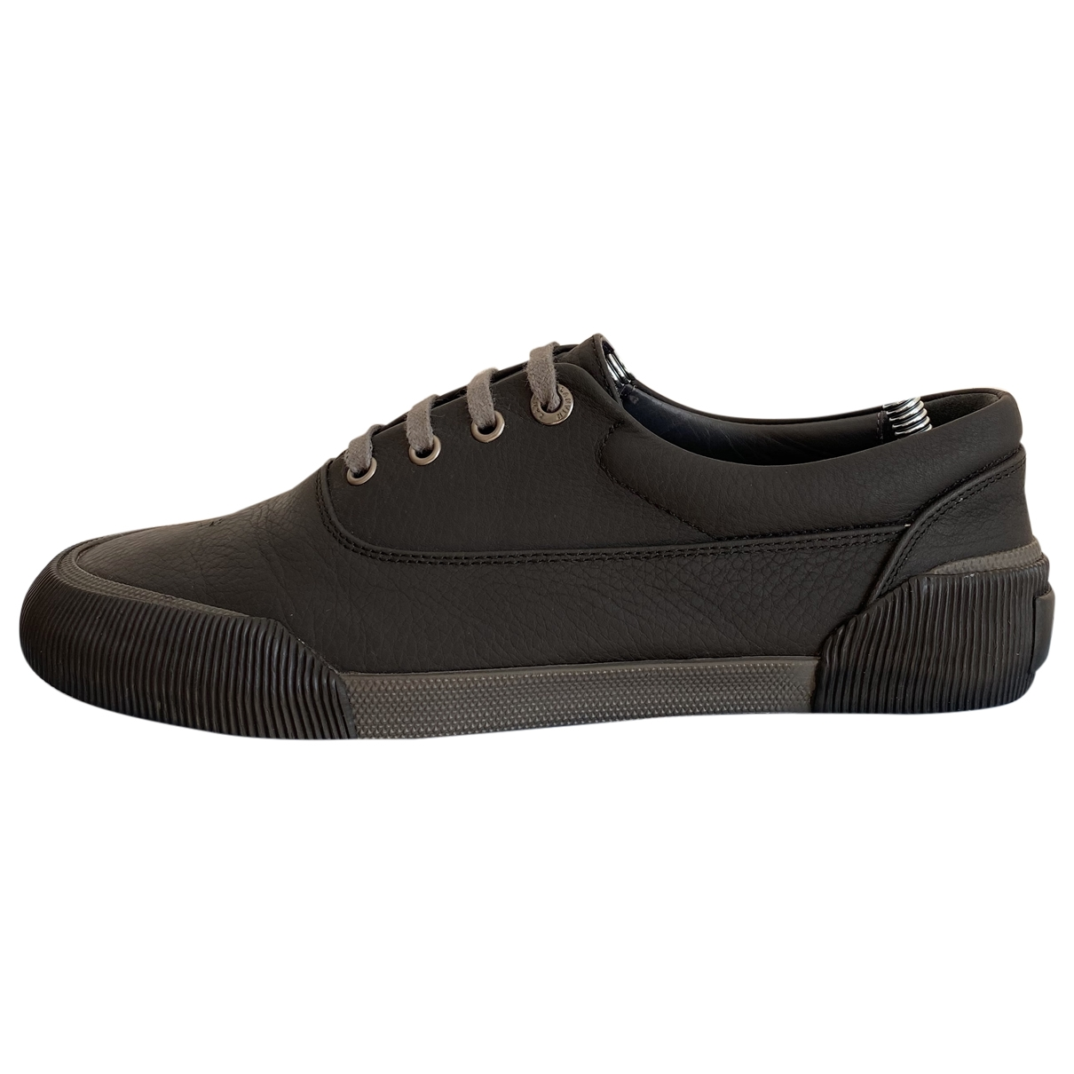 Lanvin \N Sneakers in  Anthrazit Leder