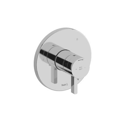 Paradox TPXTM45BG 3-Way Thermostatic/Pressure Balance Coaxial Valve Trim  in Brushed