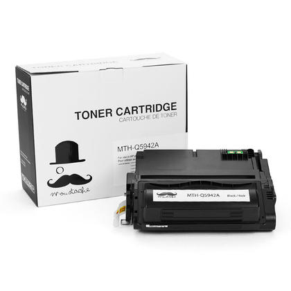 Compatible HP 38A Q1338A Black Toner Cartridge - Moustache@