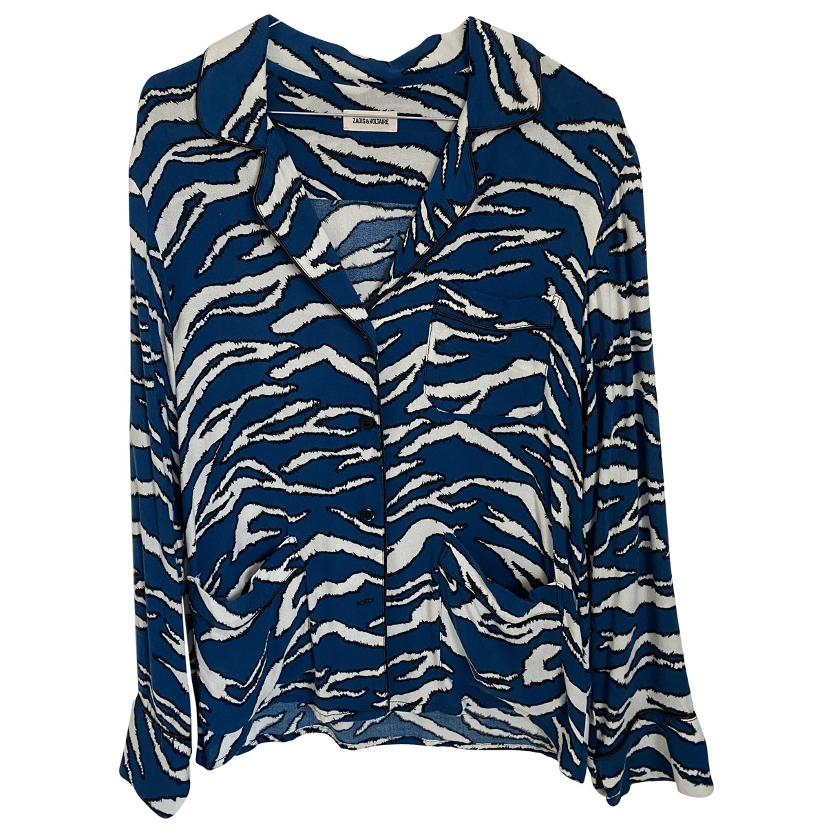 Zadig & Voltaire Fall Winter 2019 Blue  top for Women S International