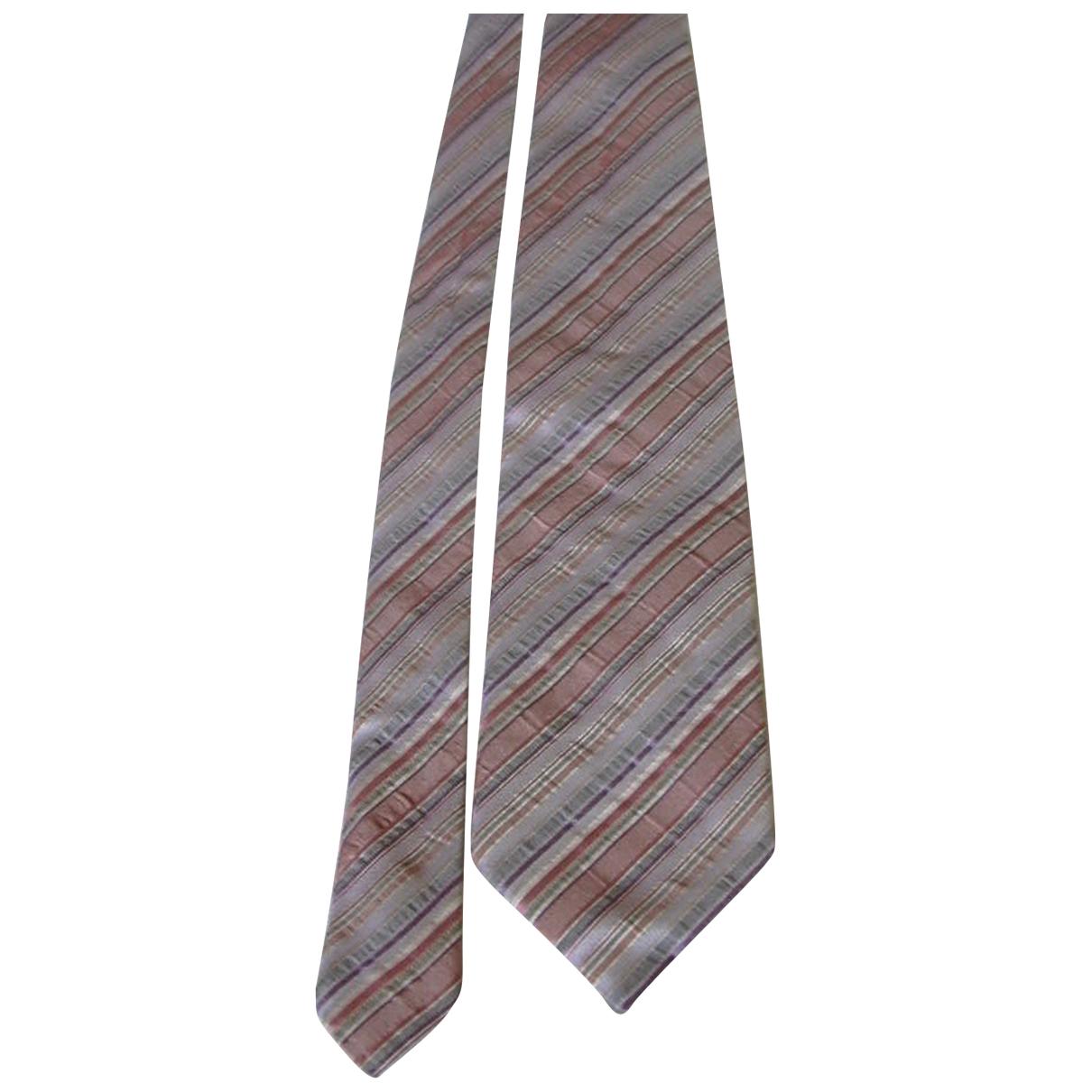 Kenzo \N Krawatten in  Rosa Seide