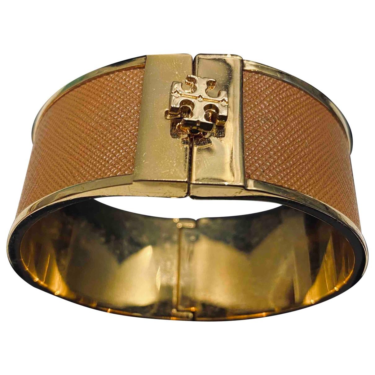 Tory Burch \N Armband in  Braun Stahl