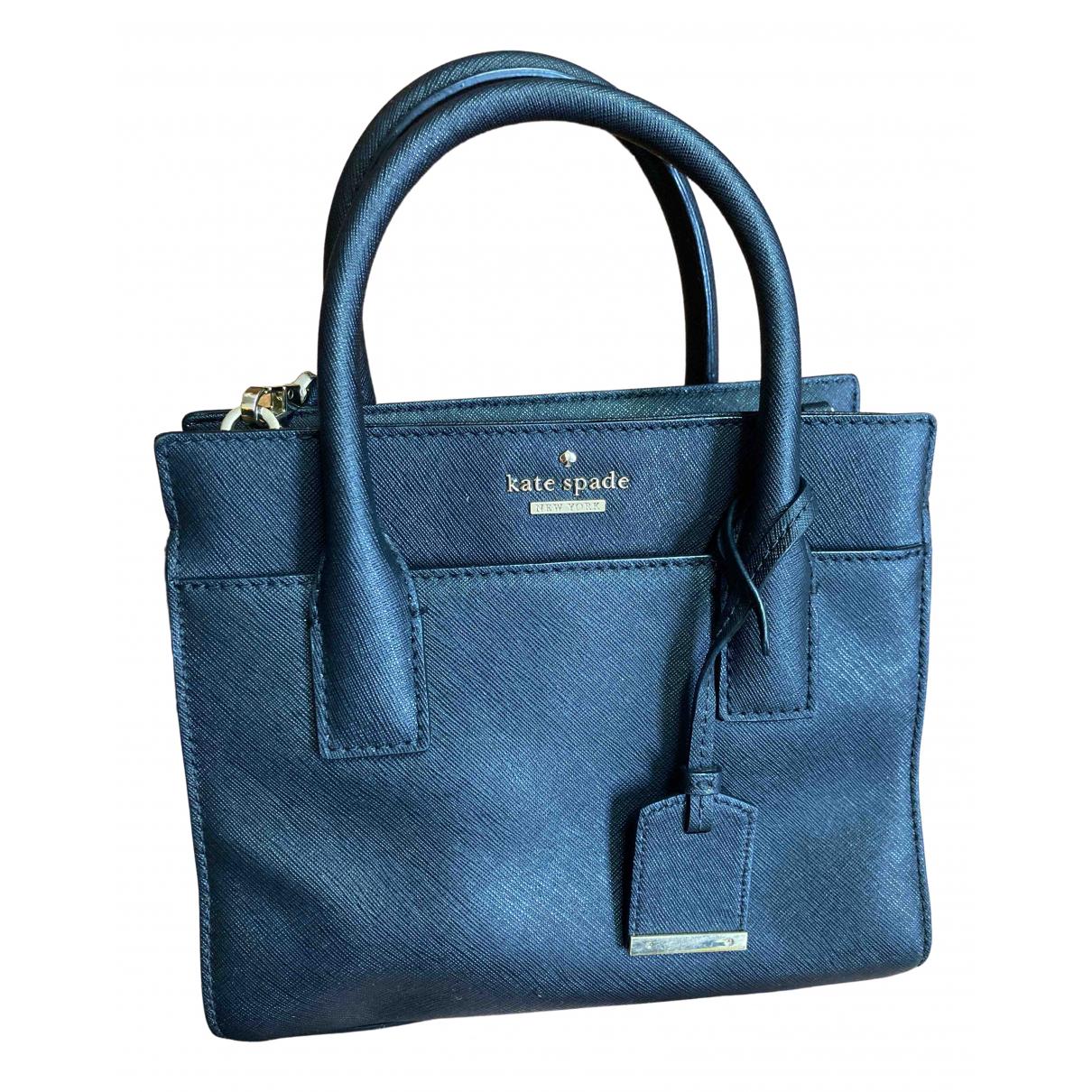 Kate Spade \N Handtasche in  Schwarz Leder