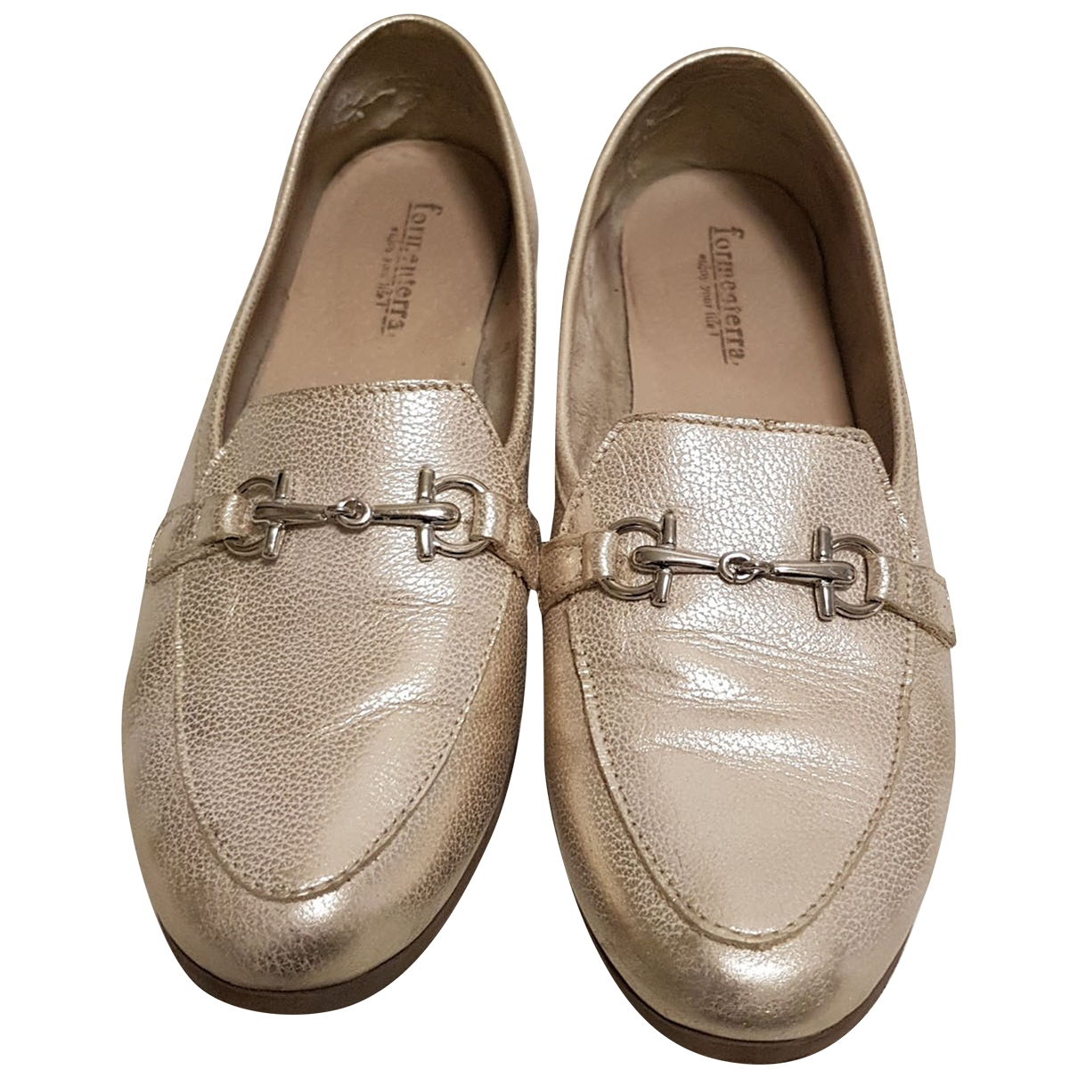 Non Signé / Unsigned Hippie Chic Leather Flats for Women 38 EU