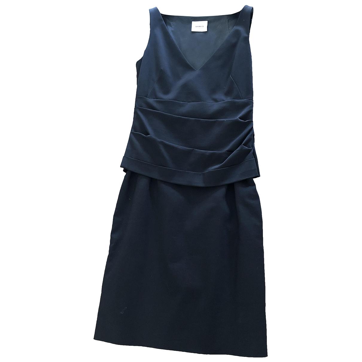 Akris Punto - Robe   pour femme en coton - bleu
