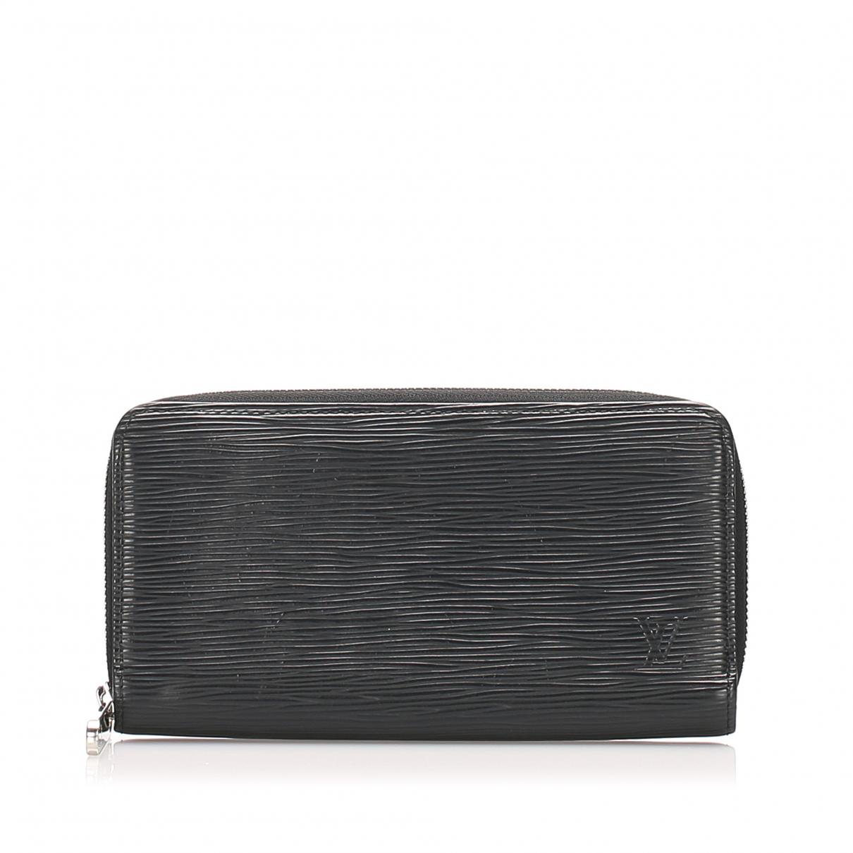 Louis Vuitton Zippy Black Leather wallet for Women \N