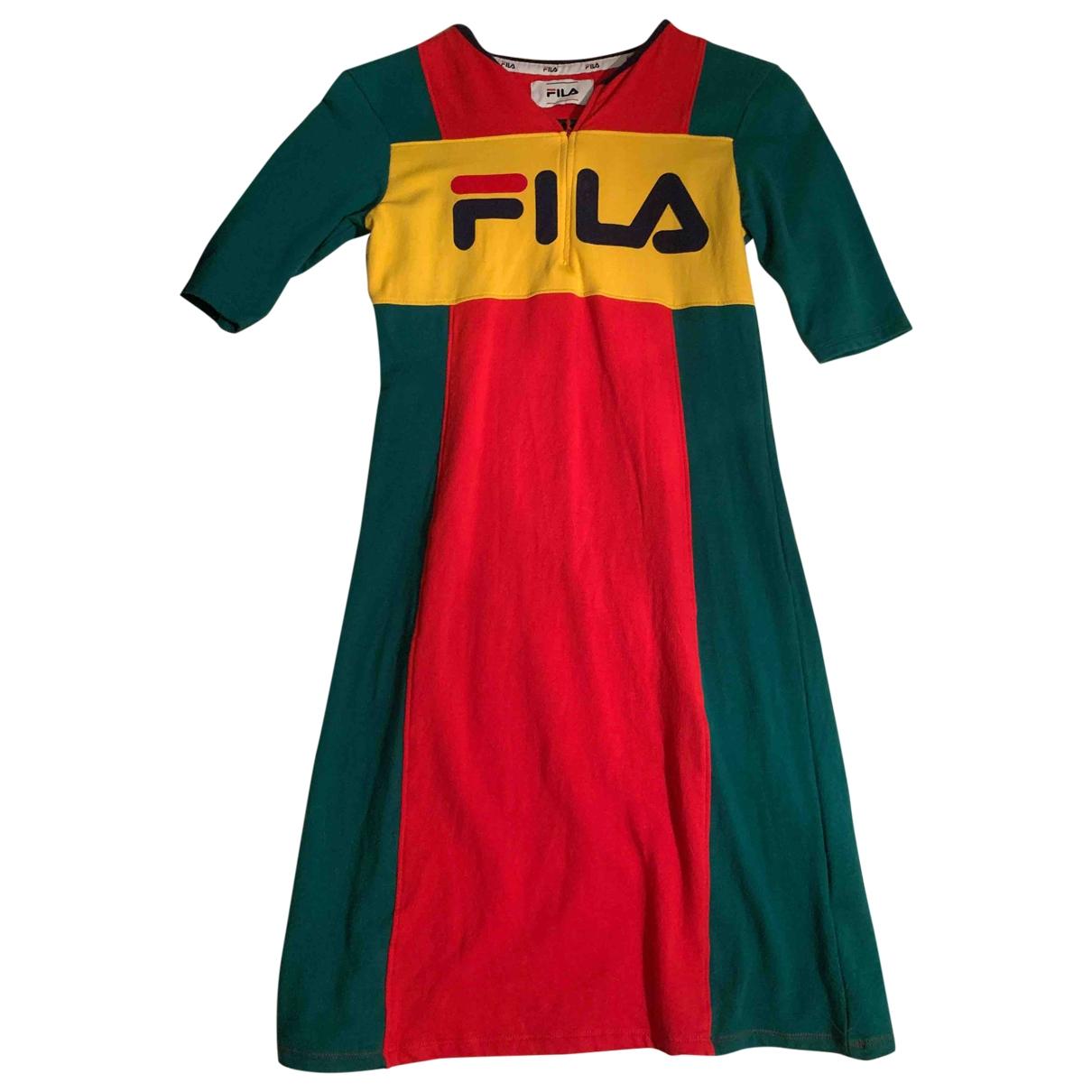 Fila - Robe   pour femme en coton - multicolore