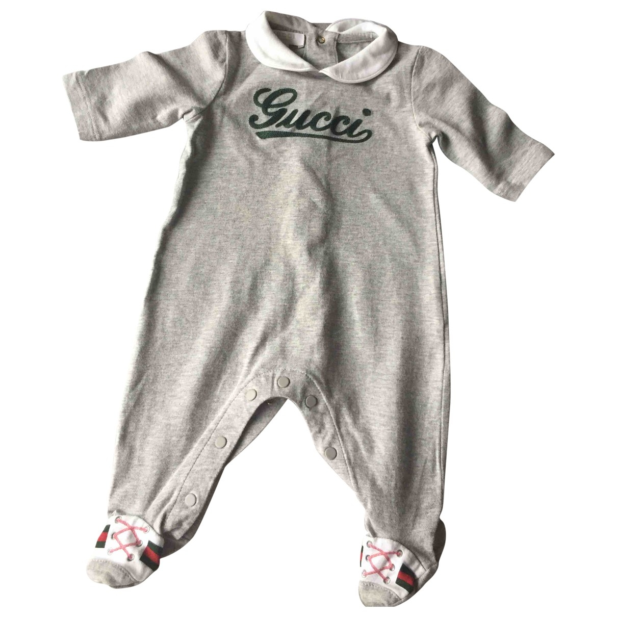 Gucci \N Grey Cotton Outfits for Kids 1 months - up to 55cm FR