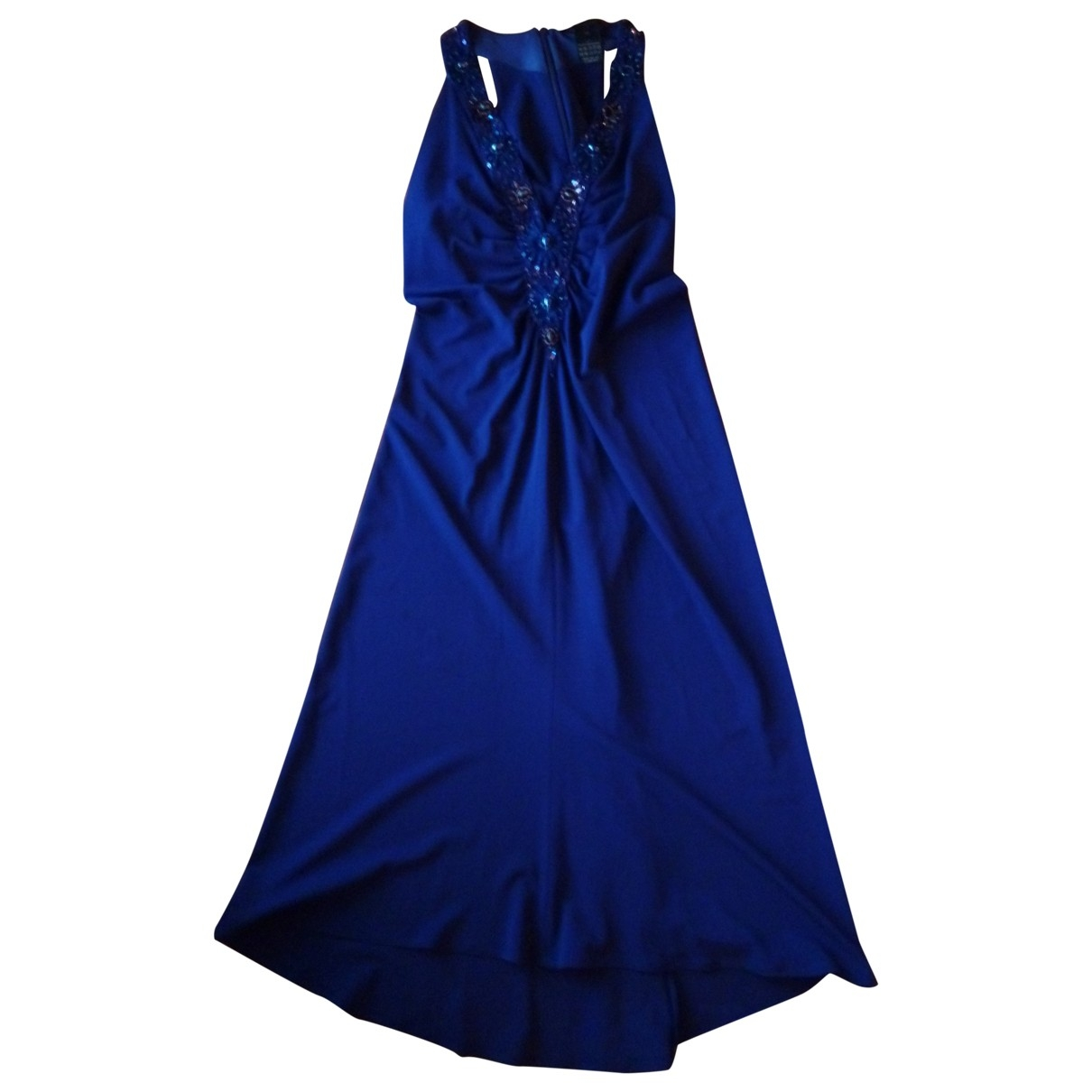 Max Mara \N Kleid in  Blau Viskose