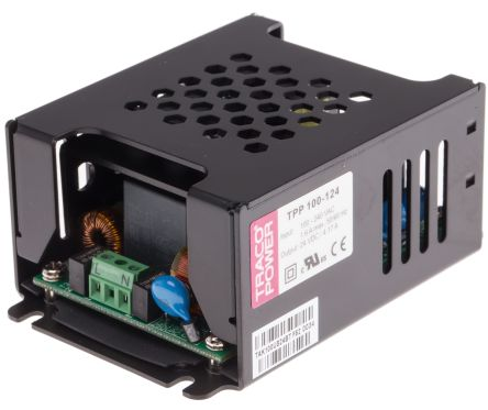 TRACOPOWER , 100W Embedded Switch Mode Power Supply SMPS, 24V dc, Enclosed, Medical Approved