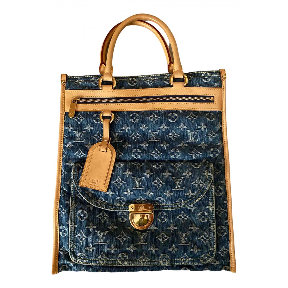 Louis Vuitton N Navy Denim - Jeans handbag for Women N