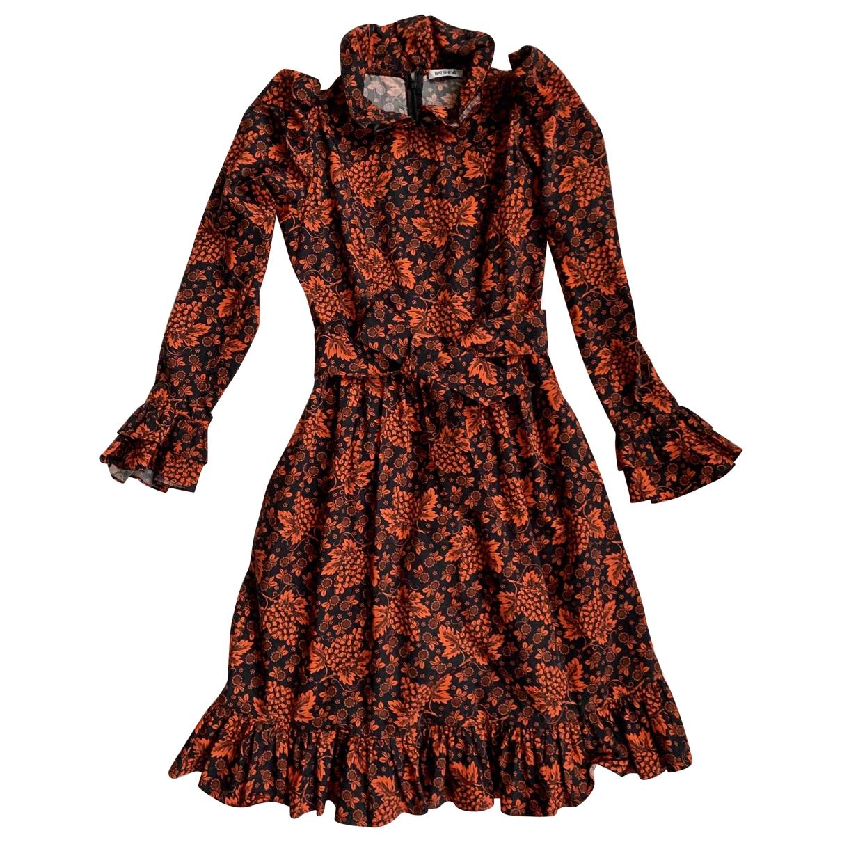 Batsheva - Robe   pour femme en coton - orange