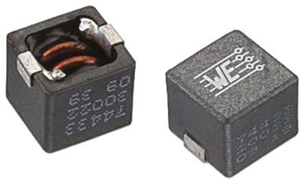 Wurth Elektronik Wurth, WE-HCC, 8070 Shielded Wire-wound SMD Inductor with a Ferrite Core, 3.3 μH ±20% Wire-Wound 14A Idc