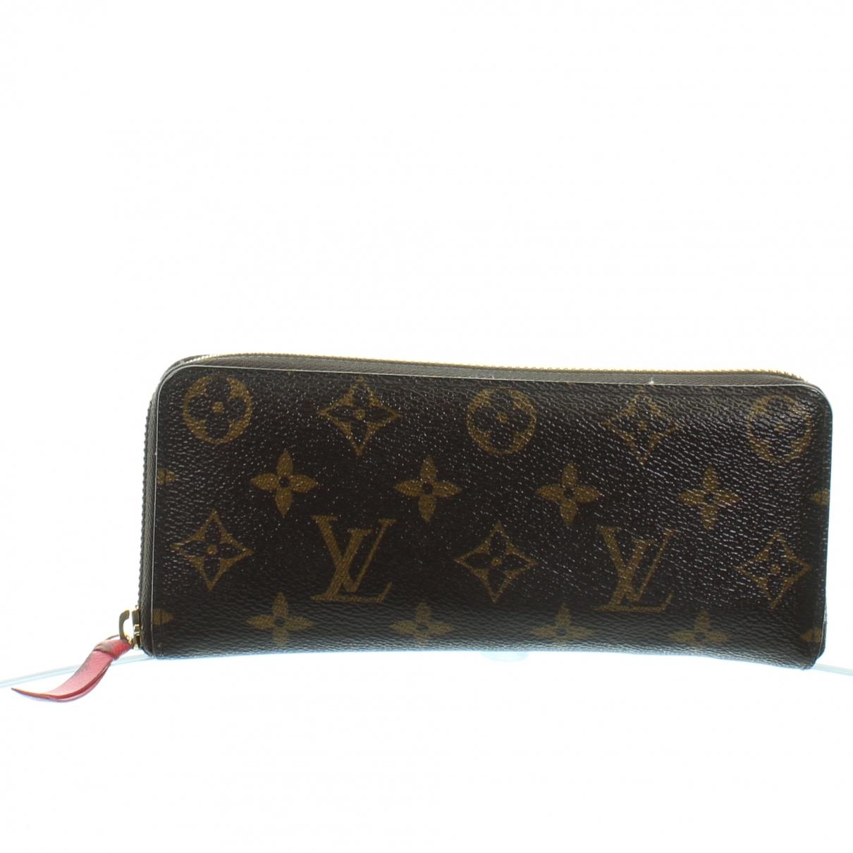 Louis Vuitton - Portefeuille   pour femme en autre - marron