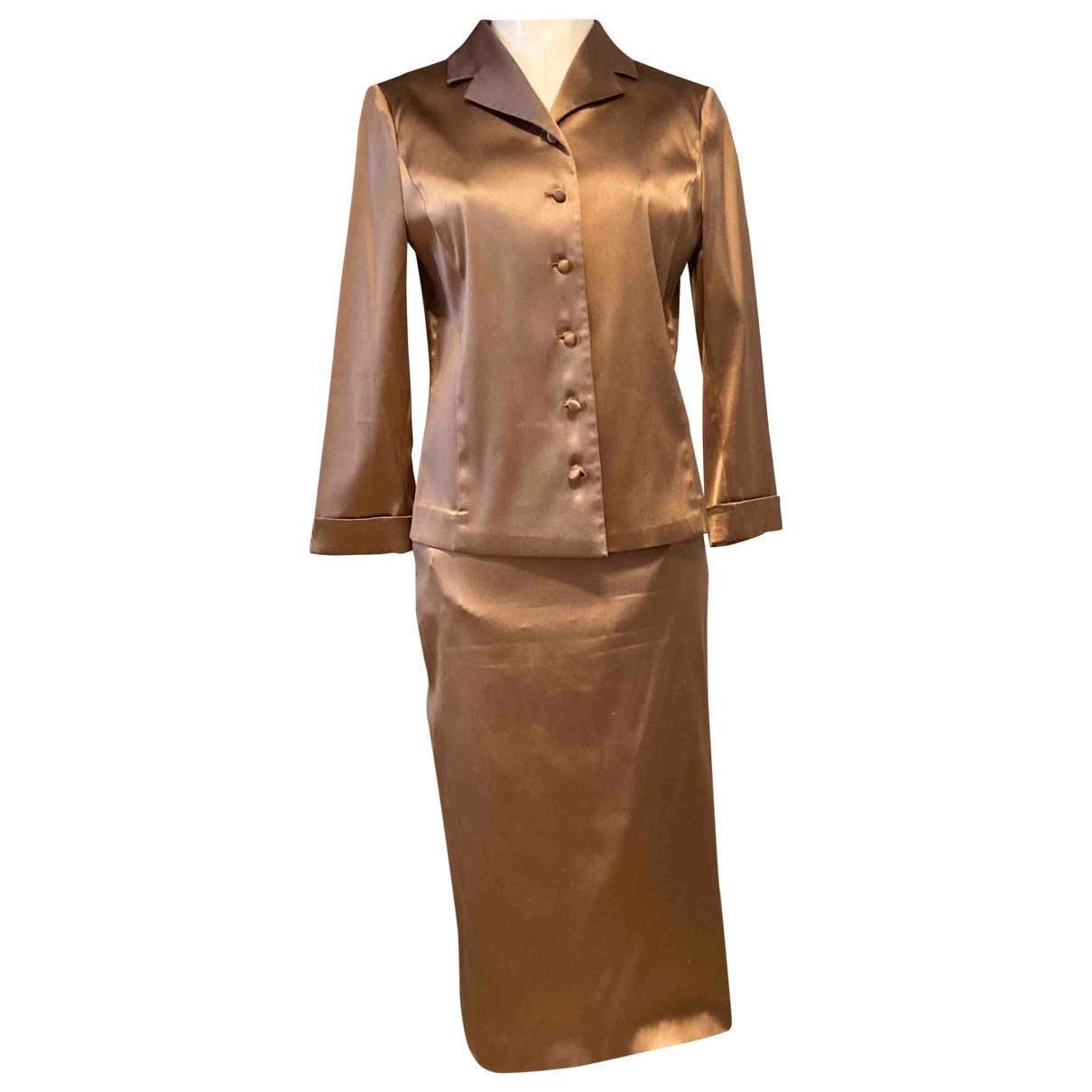 Barneys New York - Combinaison   pour femme en soie - metallise