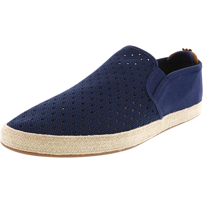 Steve Madden Men's Jetty Navy Ankle-High Fabric Slip-On Shoes - 13M