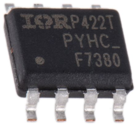 Infineon Dual N-Channel MOSFET, 3.6 A, 80 V, 8-Pin SOIC  IRF7380TRPBF (20)