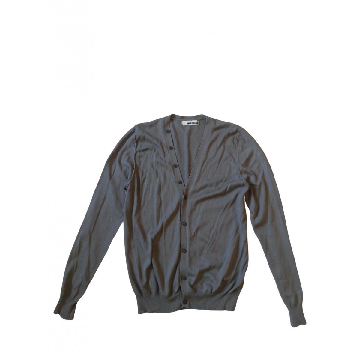 Imperial \N Pullover.Westen.Sweatshirts  in  Grau Baumwolle