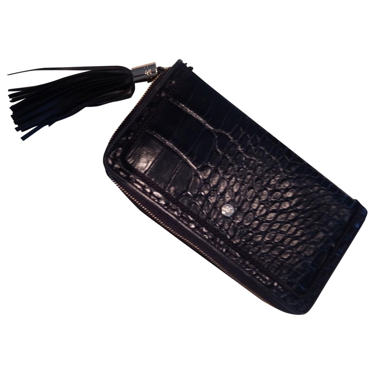 Lancel - Portefeuille 1er Flirt pour femme en cuir - noir