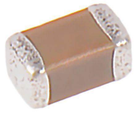Murata , 0603 (1608M) 2.2μF Multilayer Ceramic Capacitor MLCC 6.3V dc ±10% , SMD GCM188R70J225KE22D (50)