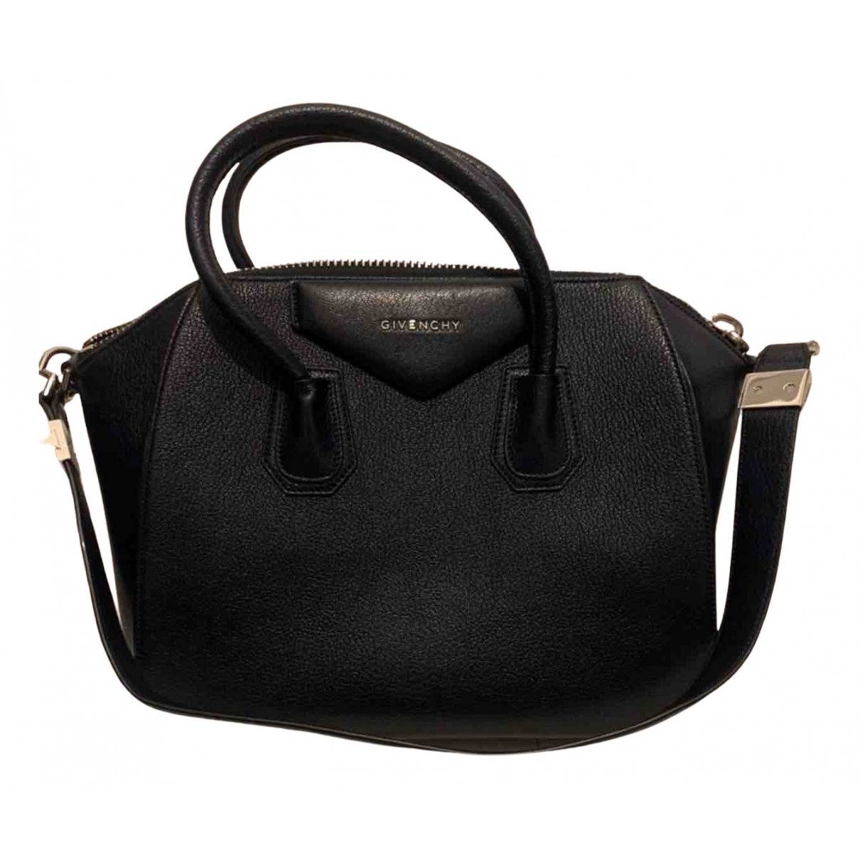 Givenchy - Sac a main Antigona pour femme en cuir - marine