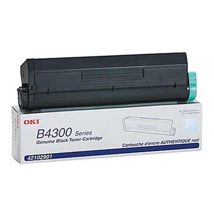 Okidata 42102901 cartouche de toner originale noire haute capacité pour l'imprimante B4300