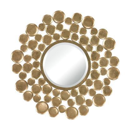 132-003 Mirror Set  In Gold Leaf Bubble