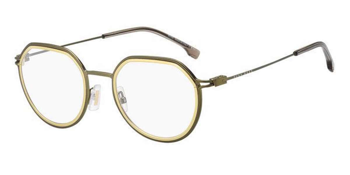 Boss by Hugo Boss Boss 1194 AN0 Men's Glasses Green Size 50 - Free Lenses - HSA/FSA Insurance - Blue Light Block Available