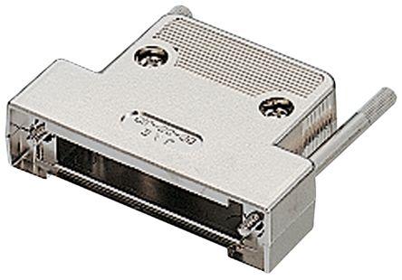 JAE ABS D-sub Connector Backshell, 9 Way