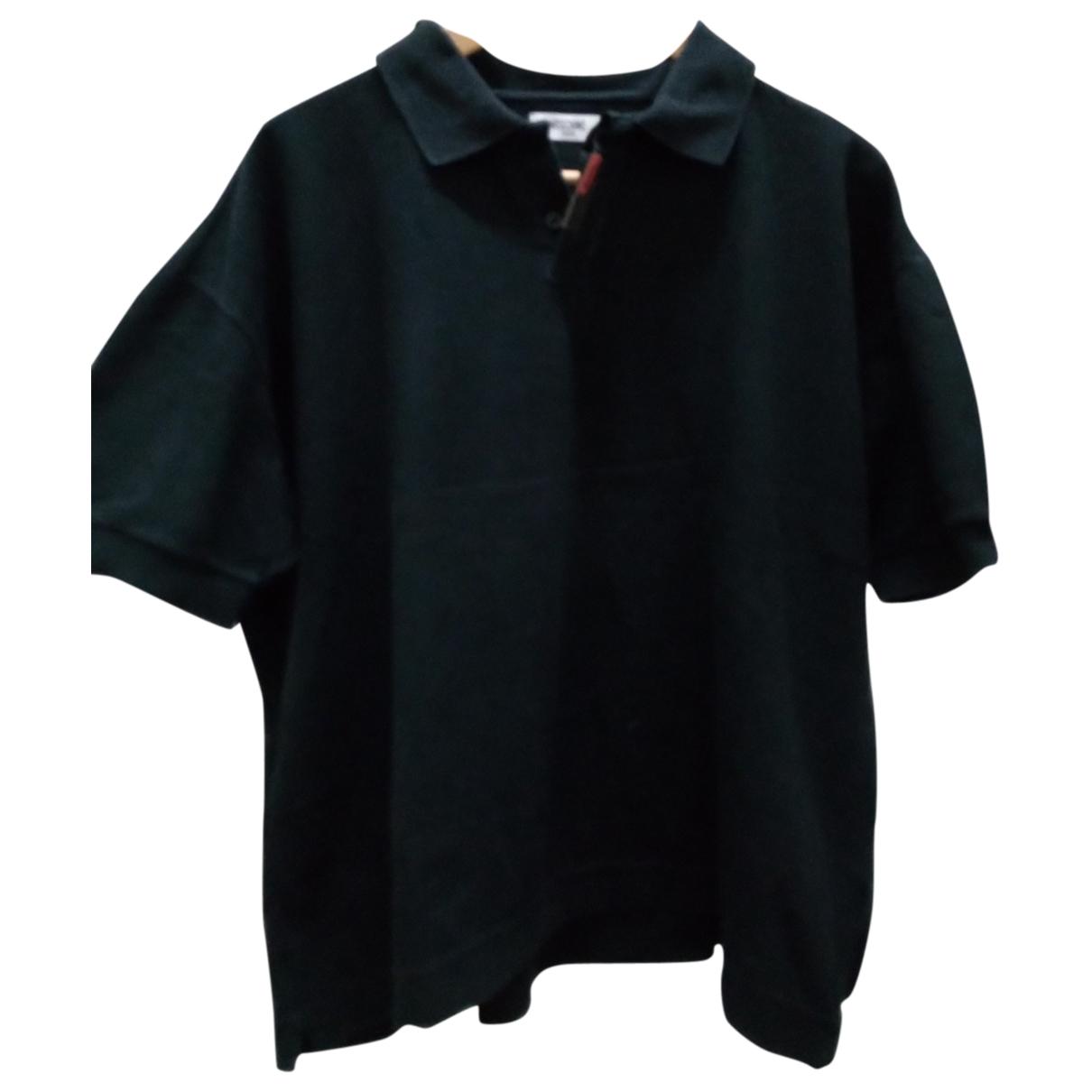 Moschino - Polos   pour homme en coton - noir