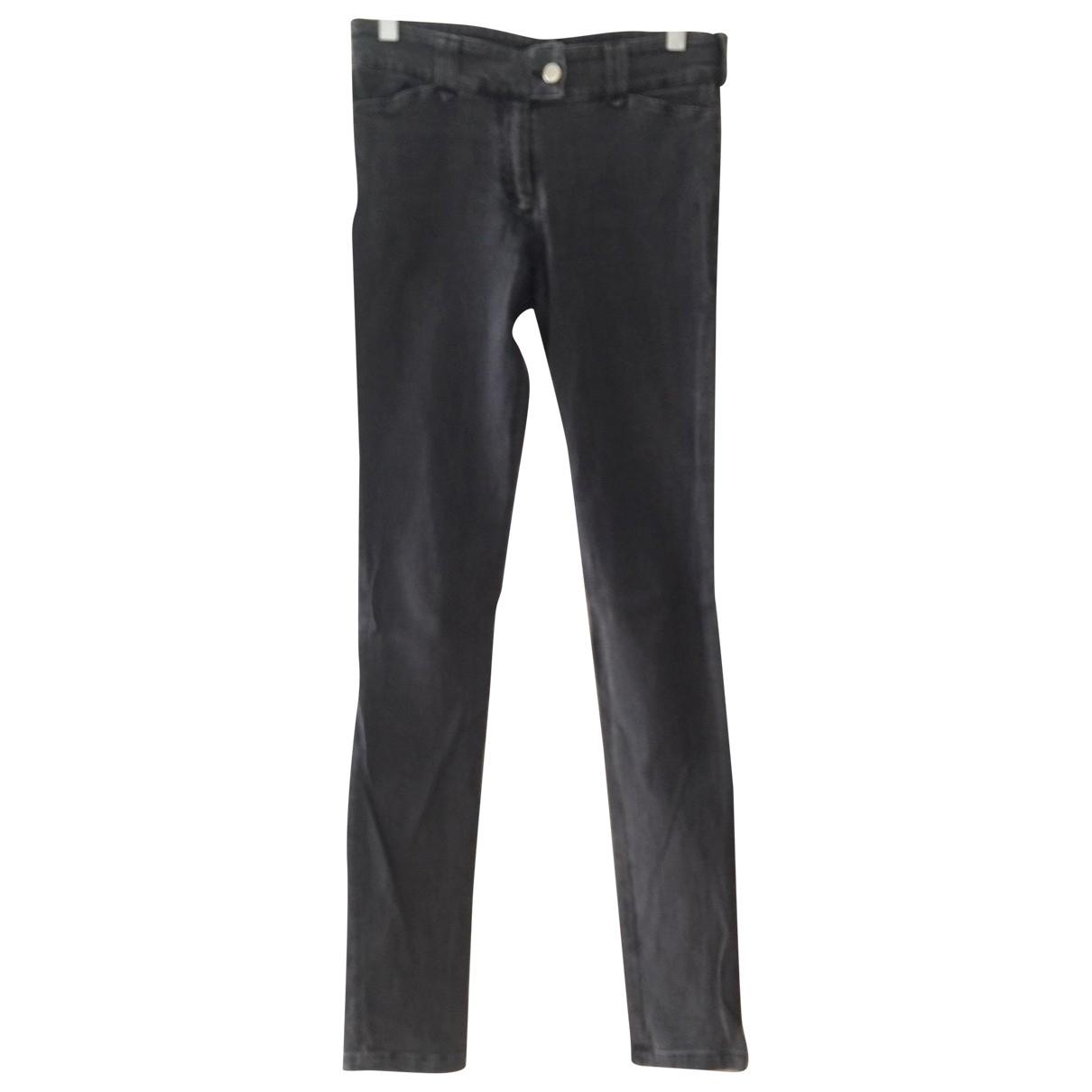 Balenciaga \N Jeans in  Anthrazit Baumwolle - Elasthan