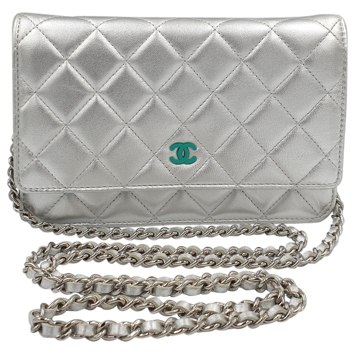 Pochette Wallet on Chain de Cuero Chanel