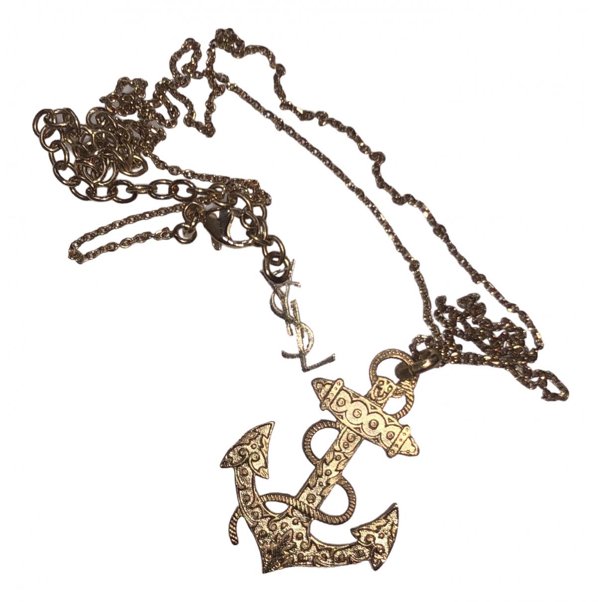 Yves Saint Laurent \N Kette in  Gold Vergoldet