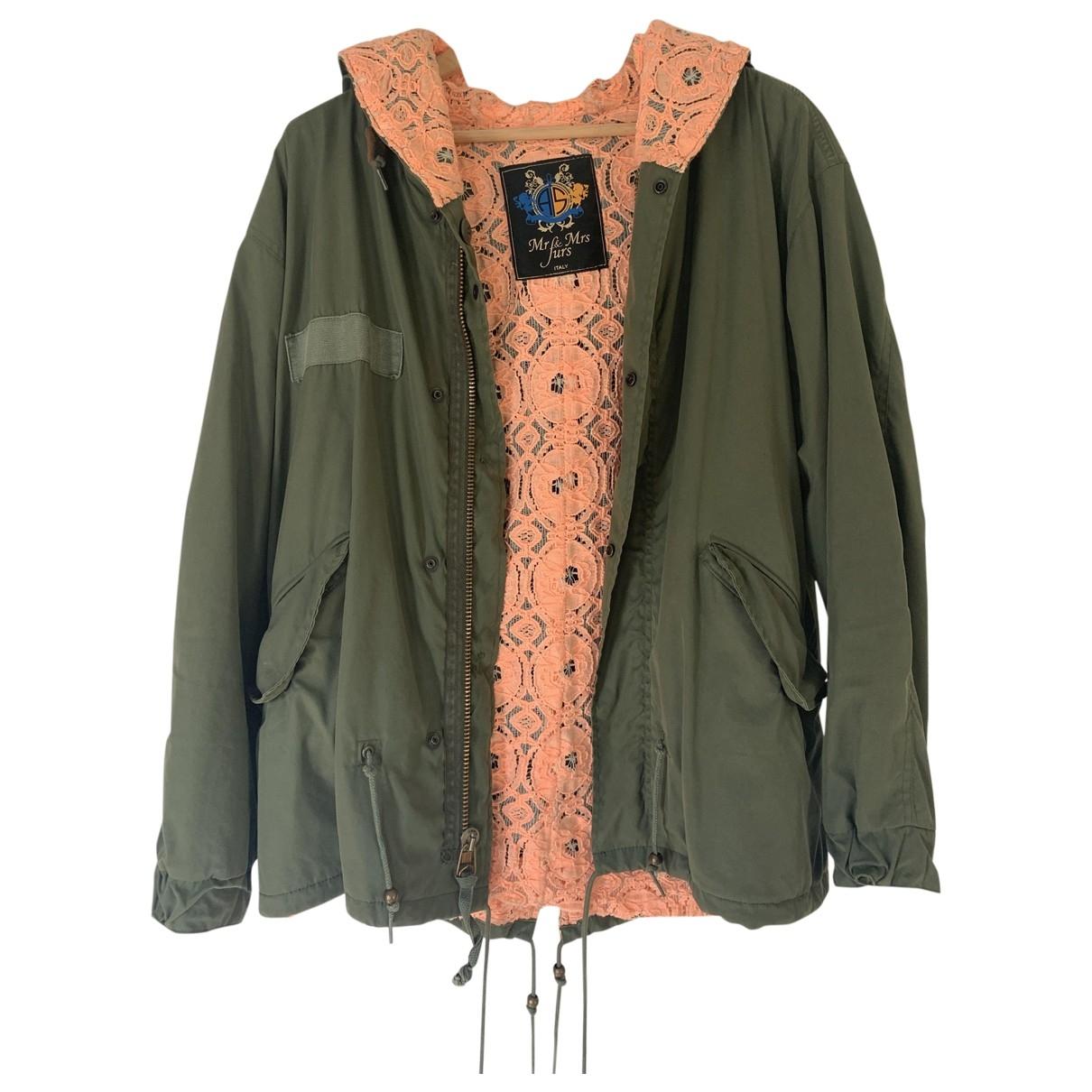 Mr & Mrs Furs \N Green Cotton coat for Women M International