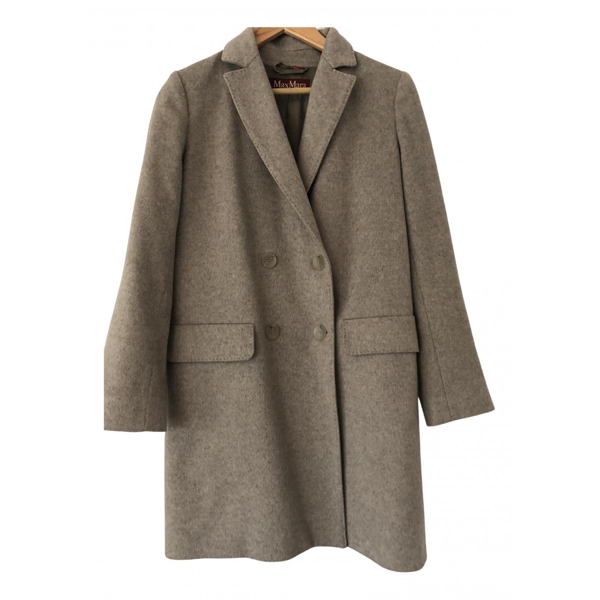 Max Mara Studio N Grey Cashmere coat for Women 6 UK