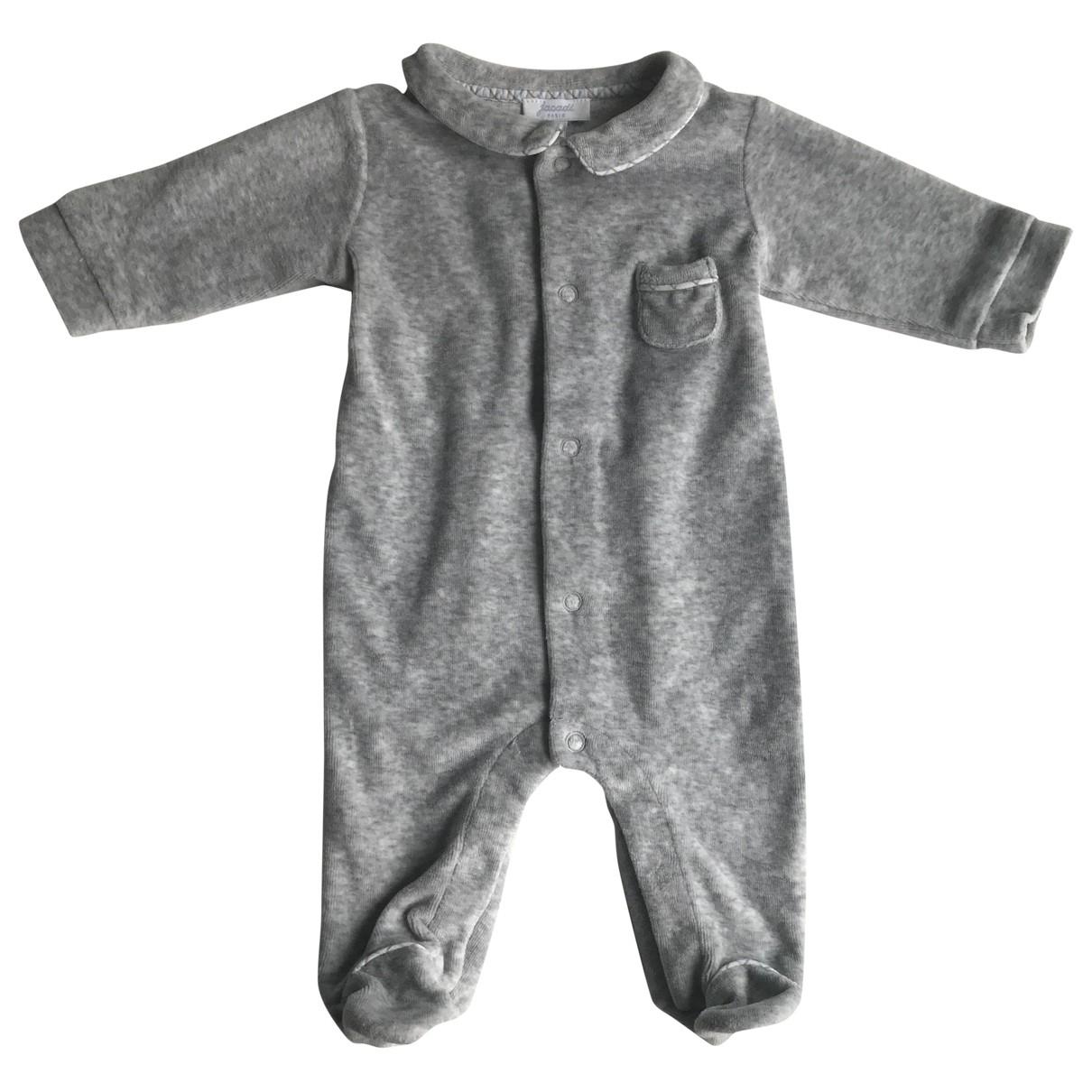 Jacadi - Les ensembles   pour enfant en coton - gris